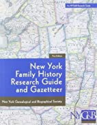 New York Family History Research Guide and…