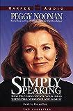 Noonan, Peggy: Simply Speaking
