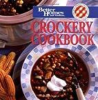 Better Homes and Gardens Crockery Cookbook…
