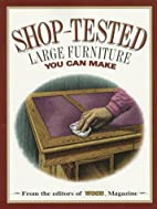 Shop-Tested Large Furniture You Can Make…