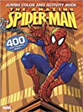 Amazing Spider   Man Jumbo Color Activity Book