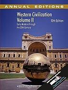 Western Civilization: Early Modern Through…