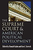 The Supreme Court And American Political…