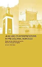 Jihad and its Interpretation in Pre-Colonial…