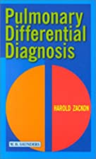 Pulmonary Differential Diagnosis by Harold…