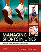 Managing Sports Injuries: a guide for…