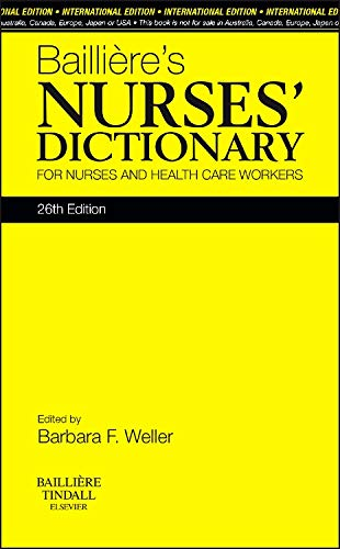 baillieres-nurses-dictionary-international-edition-for-nurses-and-healthcare-workers