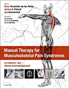 Manual therapy for musculoskeletal pain…