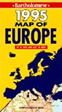 Map of Europe by Donald Ralston