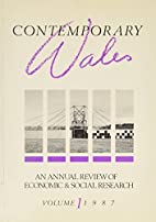 Contemporary Wales: An Annual Review of…