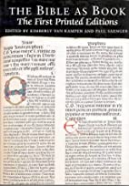The Bible as Book: First Printed Edition v.…