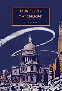 Murder By Matchlight   cover