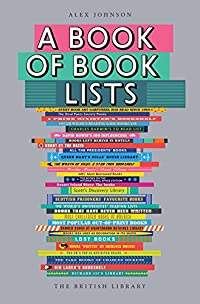 A Book of Book Lists  cover