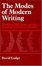 The modes of modern writing: Metaphor,…