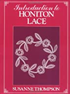Introduction to Honiton Lace by Susanne…