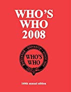 Who's Who 2008: 160th annual edition (Who's…