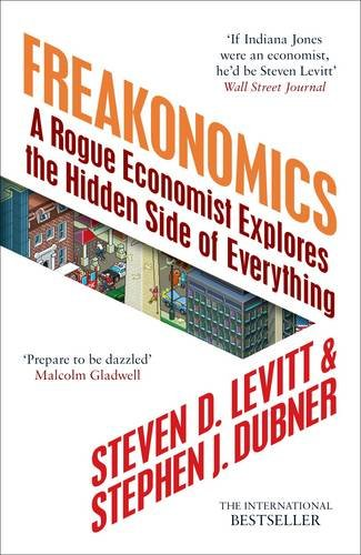 Cover of Freakonomics by Stephen J. Dubner, Steven D. Levitt