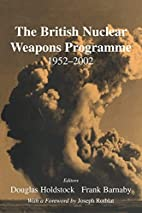 The British Nuclear Weapons Programme,…