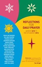 Reflections for Daily Prayer : Advent 2015…