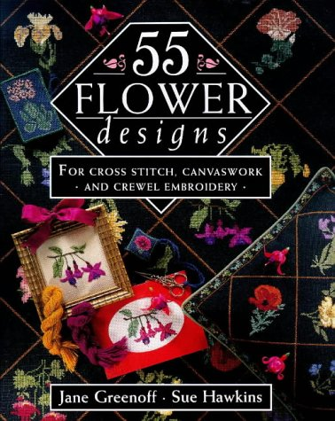 55 Flower Designs cover