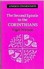 The Second Epistle to the Corinthians…