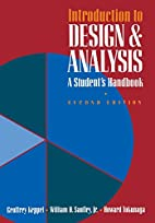 Introduction to Design and Analysis: A…