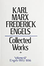Karl Marx Frederick Engels: Collected Works…
