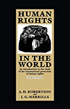 Human Rights in the World: An Introduction…