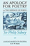 Shepherd, Geoffrey: An Apology for Poetry or the Defence of Poesy