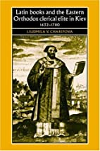 Latin books and the Eastern Orthodox…
