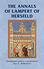 The annals of Lampert of Hersfeld by I.S.…