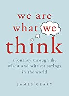 We Are What We Think: A Journey Through the…