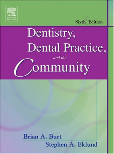 dentistry-dental-practice-and-the-community-6th-edition