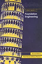 A Short Course in Foundation Engineering,…