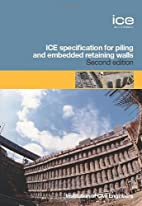 Ice Specifications for Piling and Embedded…