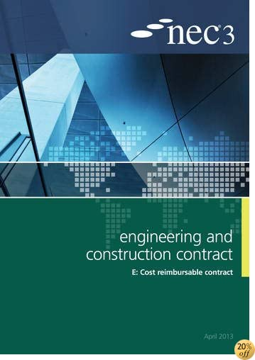 NEC3 Engineering and Construction Contract Option E: Cost reimbursable contract