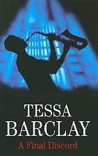 A Final Discord by Tessa Barclay