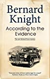 Knight, Bernard: According to the Evidence (Richard Pryor Mysteries)