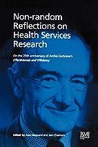 Non-Random Reflections: On Health Services…