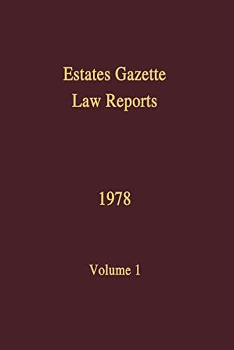 eglr-1978-volume-1-vol-1-estates-gazette-law-reports