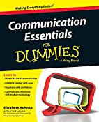 Communication Essentials For Dummies by…