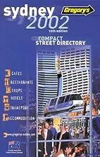 Sydney Compact 2002 Street Directory