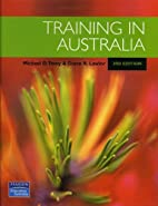 Training in Australia by Michael D. Tovey