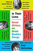 In Their Lives: Great Writers on Great…