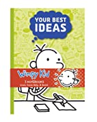 Diary of a Wimpy Kid 3-Notebook Set by Jeff…