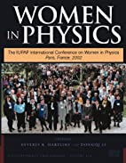 Women in physics the IUPAP International…