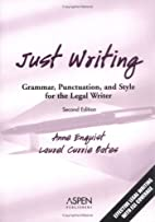 Just Writing: Grammar, Punctuation, And…