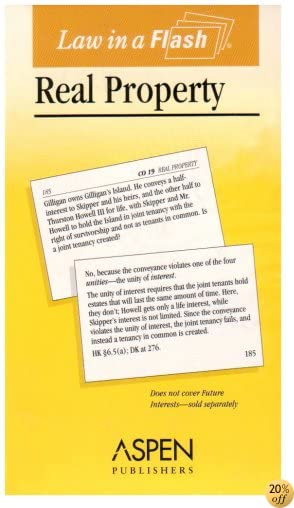 Law in a Flash: Real Property (Law in a Flash Cards)