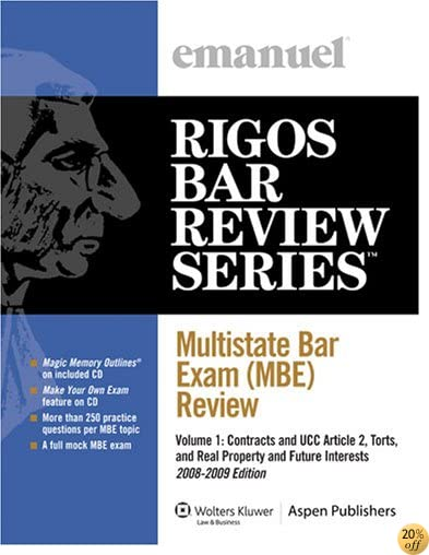 Multistate Bar Exam (MBE) Review Volume 1