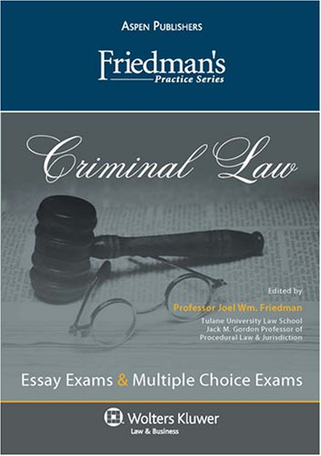 friedmans-practice-series-criminal-law